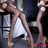情趣用品-情趣睡衣 Gaoria 唯美情境 免脫性感顯瘦連褲襪 N3-0091 黑色 絲襪 長統襪