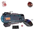買1送2【Bloody】雙飛燕B318八光軸機械鍵盤(可編程) -送電競滑鼠A60 及控鍵寶典