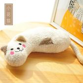 多格漫貓玩具貓枕頭毛絨玩具貓用頸枕睡枕舒適靠枕多功能貓咪用品 米希美衣