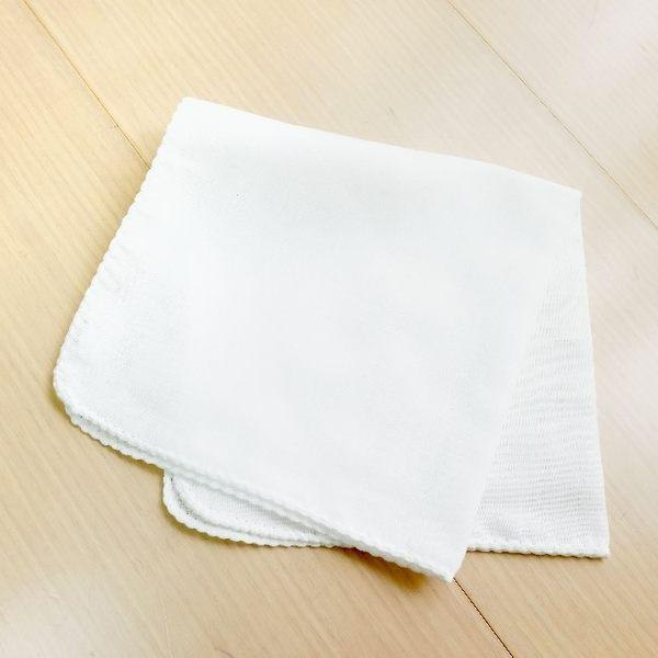 GMP BABY 6枚 日本製舒適純棉雙點紗布手巾33X33