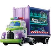 TOMICA多美玩具總動員 巴斯光年收納貨櫃車 DISNEY MOTORS