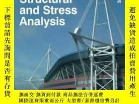 二手書博民逛書店Structural罕見And Stress Analysis Second Edition-結構與應力分析第二版
