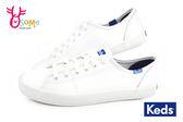 Keds 女鞋 帆布鞋 Taylor Swift代言 經典 皮革 休閒鞋 H9856#白色◆OSOME奧森童鞋/小朋友