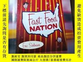 二手書博民逛書店fast罕見Food NTTIGN the dark side of the al-american meal E