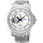 【人文行旅】SEIKO | 精工錶 SSA319J1 Premier 簡約時尚 藍寶石鏡面 機械錶