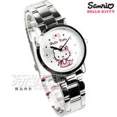 HELLO KITTY 公司貨 凱蒂貓 浪漫相會時尚優質俏麗腕錶 不銹鋼  LK680LWWI 貓咪 防水手錶