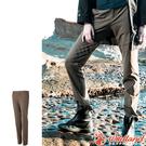 Wildland 荒野 0A52307-62黃卡其 女彈性合身保暖褲 彈性快乾機能褲/修身剪裁/運動休閒褲
