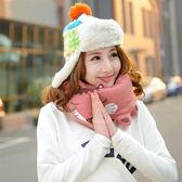 脖圍 圍巾 Gismo可愛動物園巴士造型圍巾 披肩【SV2844】HappyLife
