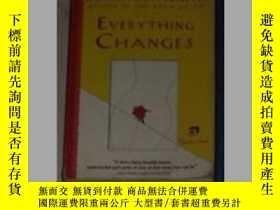二手書博民逛書店Everything罕見Changes by Jonathan