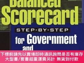 二手書博民逛書店Balanced罕見Scorecard Step-by-step For Government And Nonpr