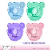 【嬰之房】PHILIPS AVENT 矽膠安撫奶嘴-熊熊系列初生型(顏色隨機)