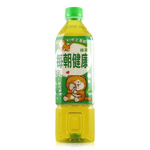 御茶園 每朝健康綠茶 650ml【新高橋藥妝】效期:2018.12.26