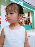 新年禮物 兒童卡通無耳洞耳夾 假耳釘耳環耳墜小女孩公主裝扮耳飾 范思蓮恩