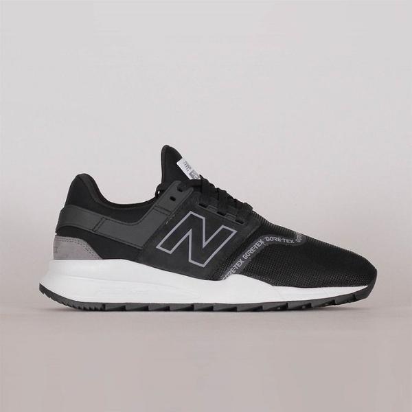 NEW BALANCE 247 GORE-TEX 黑白 防潑水 透氣 男女慢跑鞋 MS247GTX