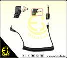 ES數位 觸發器 棚燈 閃光燈 PC 訊號線 同步線 延長線 PC轉PC PC轉6.35 PC轉3.5mm 捲線 線長35cm