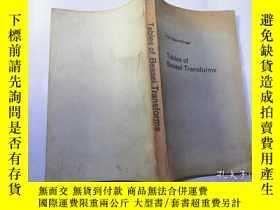 二手書博民逛書店tables罕見of bessel transforms【英文版