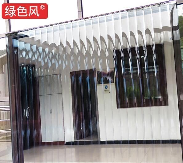 門簾夏季空調透明PVC塑膠防蚊家用廚房超市商場擋風軟隔斷皮簾子  歐韓流行館