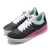 Puma 籃球鞋 Clyde All-Pro 黑 粉紅 針織鞋面 男鞋 低筒 【ACS】 19403902