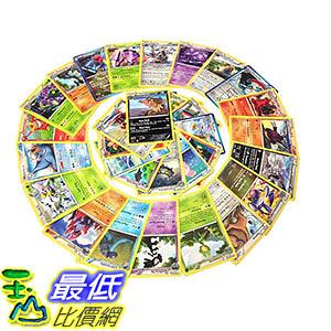 [106美國直購] Pokémon Assorted Cards, 50 Pieces