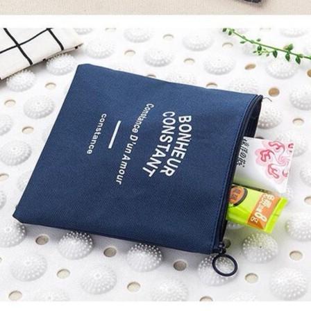 【BlueCat】BC鄉村風帆布零錢收納包(小號)
