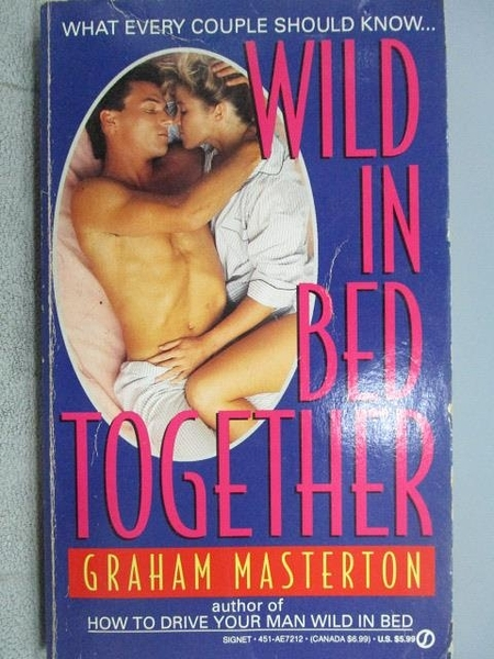 【書寶二手書T6/原文小說_MLI】Wild in Bed Together_Graham Masterton