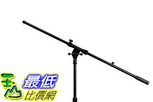 [107美國直購] 麥克風支架 On Stage Stands MS7701B Tripod Boom Microphone Stand f601