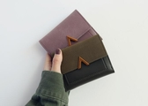 錢包 錢包女短款拼接金屬V字裝飾磨砂復古女包小包