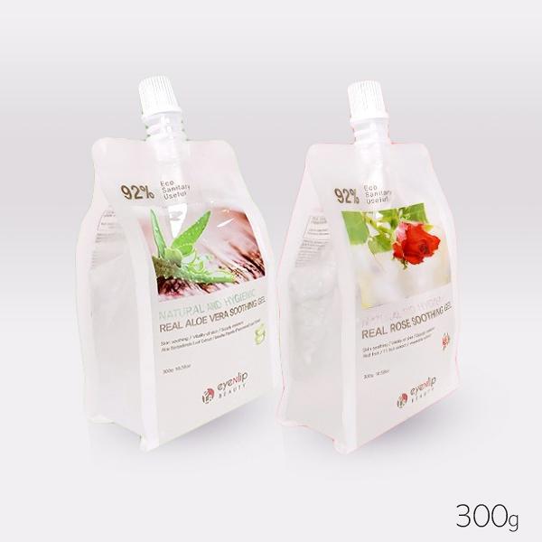 韓國 Eyenlip 92% 吸吸瓶 玫瑰/蘆薈舒緩凝膠 300g 款式可選【YES 美妝】
