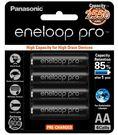 日本製 Panasonic 國際牌 eneloop pro 3號AA(大顆) 2550mAh低自放電池 8入裝送電池盒X2