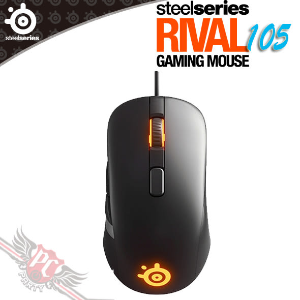 [ PC PARTY  ]  賽睿 SteelSeries Rival 105 電競滑鼠