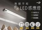 ~愛思摩比~無線平板磁吸式LED感應燈 32CM 54顆LED超亮 USB充電內置電芯