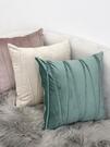 抱枕現代簡約純色抱枕靠墊沙發辦公室大靠背墊長腰枕床頭抱枕套含芯春季新品