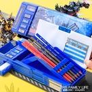 變形金剛小學生多功能文具盒兒童幼兒園筆盒大容量簡約鉛筆盒 艾瑞斯