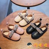 女童皮鞋兒童公主鞋軟底鞋英倫風單鞋春秋季【淘嘟嘟】