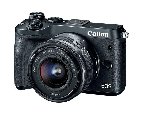 Canon EOS M6 [15-45mm 單鏡組] 微單眼 無反相機【 平行輸入】 ww 3期0利率