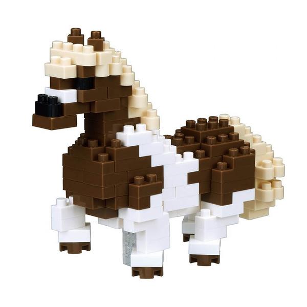 《 Nano Block 迷你積木 》【 可愛動物系列 】NBC-221 小馬 ╭★ JOYBUS玩具百貨