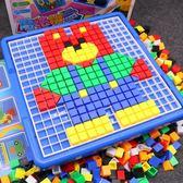 拼圖玩具 兒童拼圖玩具 1-2-3周歲寶寶玩具男孩幼兒益智4-5女孩子積木女童【全館九折】