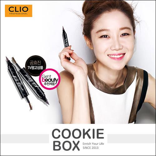 韓國 Clio 魅黑刺青 眉筆 Kill Brow 眉液筆 染眉膏 韓劇 彩妝 (2.8g+4.5g/條) *餅乾盒子*