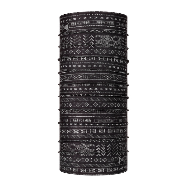 [好也戶外] BUFF Coolnet抗UV頭巾 灰黑印歐 NO.122502-999