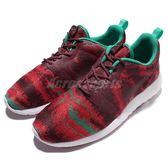 【六折特賣】Nike 休閒慢跑鞋 Roshe One KJCRD 紅 綠 運動鞋 男鞋【PUMP306】 777429-603 777429-603