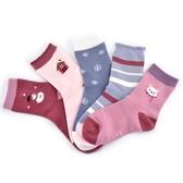 冰天傲雪女童襪子兒童純棉寶寶秋冬中大童棉襪女孩學生7-9歲