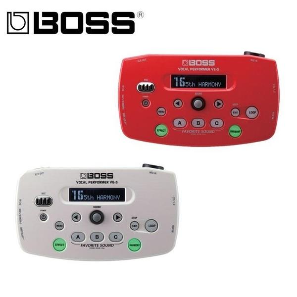 唐尼樂器︵公司貨分期免運 BOSS VE-5 Vocal Echo 人聲 和聲 主唱 效果器 VE5