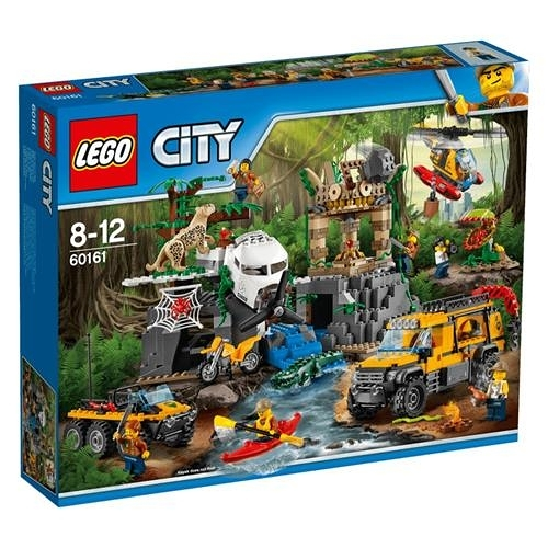 LEGO 樂高 City Jungle Explorers Jungle Exploration Site 60161 (813 Piece)