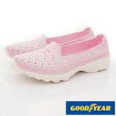 【GOODYEAR】Q彈防水洞洞透氣機能鞋-GAWP82822-粉紅-女段-現貨