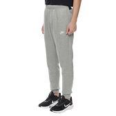 NIKE 長褲 NSW CLUB 基本款 灰色 刺繡LOGO 棉褲 男 (布魯克林) BV2672-063
