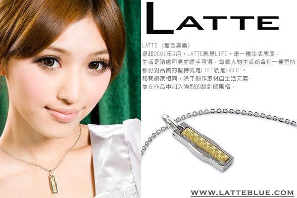 LATTE 黃金美健 能量鈦鍺磁石項鍊 女鍊