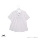 【INI】質感休閒、柔美格紋質感舒適上衣...