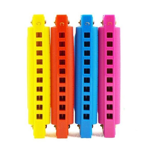 C調布魯斯10孔兒童口琴玩具初學入門男女孩吹奏樂器口風哨小喇叭