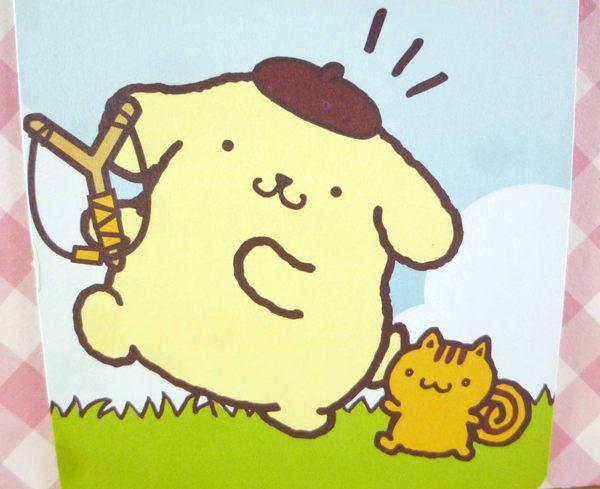 【震撼精品百貨】Pom Pom Purin 布丁狗~布丁狗卡片-弓箭