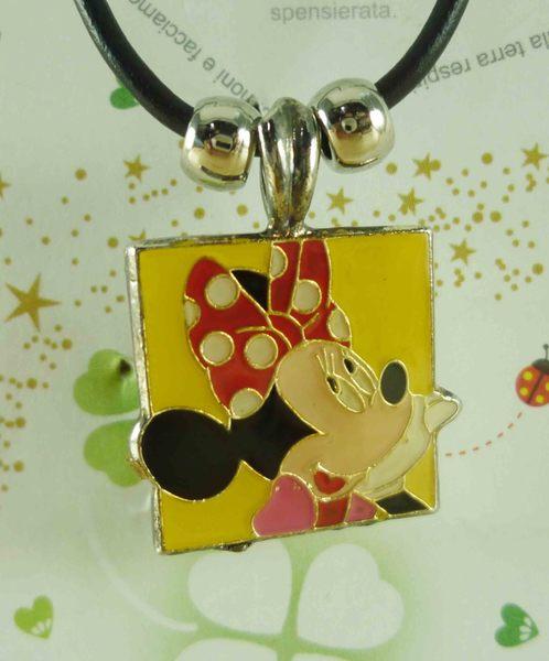 【震撼精品百貨】Micky Mouse_米奇/米妮 ~項鍊-米妮